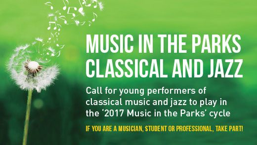 Selection process for the 2017 Music in the Parks