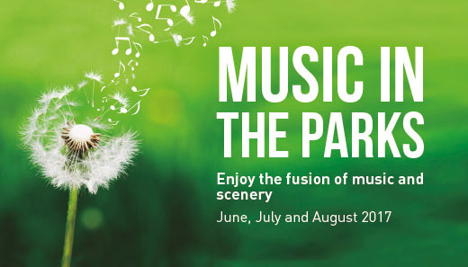 A way of enjoying nature and music in the city
