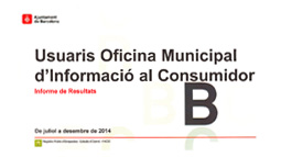 Cover of the OMIC Users Results Report. July-December 2014